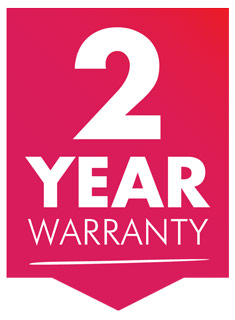 All Delfin Vacuum Cleaners Come With 2 Years Warranty