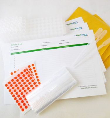 Microbiological dipslide test kits